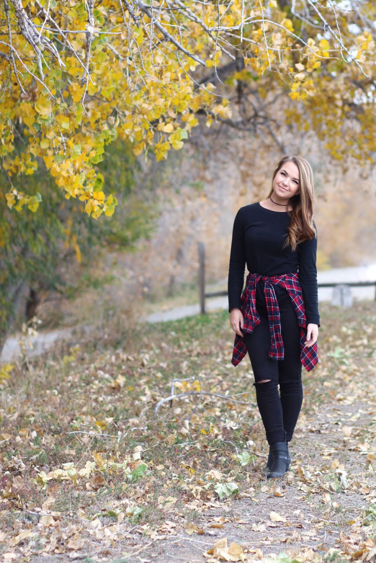 Fall Flannel Outfit