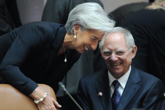 Συμφωνία Σόιμπλε-Λαγκάρντ για την Ελλάδα