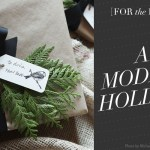 [For the Home] Inspiration: A Modern Holiday