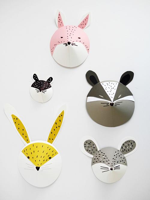 8 DIY Gift Ideas that are Stylish, Affordable and Easy! // So Fresh & So Chic for Allyn Lewis // www.allynlewis.com #diygifts #diyanimalmasks #forthekids #diygiftideas