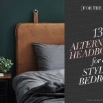 [For the Home] 13 Alternative Headboard Ideas for a Stylish Bedroom!