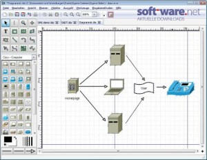 Dia Diagram Editor 09722  Download (Windows  Deutsch