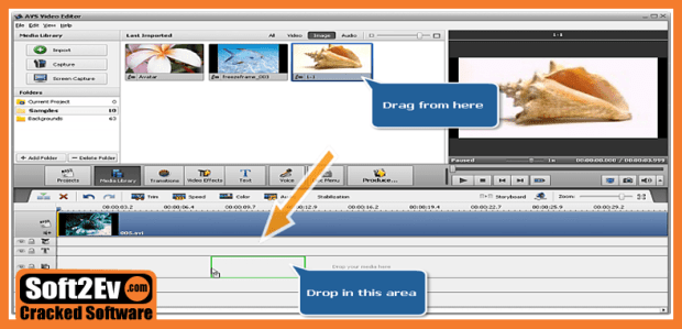 AVS Video Editor 9.1 Crack +Activation code Fully Version