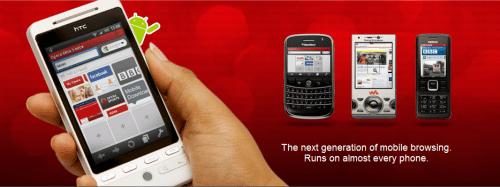 更快、更省錢的手機瀏覽Android 版的 Opera Mini 5 beta 發表 OperaMini5-2