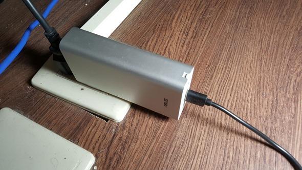 [評測] 旅行好搭檔! ZenPower Combo 快充行動電源讓你一顆當兩顆用 20160224_162559