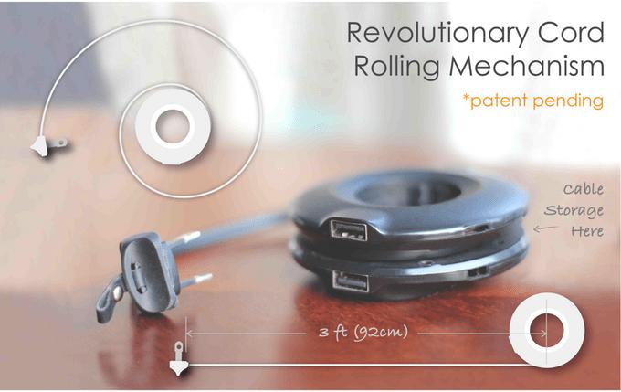 解決所有插電的煩惱 - MOGICS 甜甜圈延長線 5