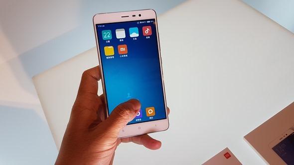 台灣紅米 Note 3 正式發表,金屬機身+指紋辨識 5,499 元起! 20160322_134903
