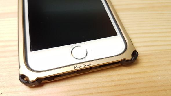 不用再怕iPhone摔歪了!Miottimo 星寰金屬邊框軟硬兼施,吸震、強化保護你的手機 20160331_172531