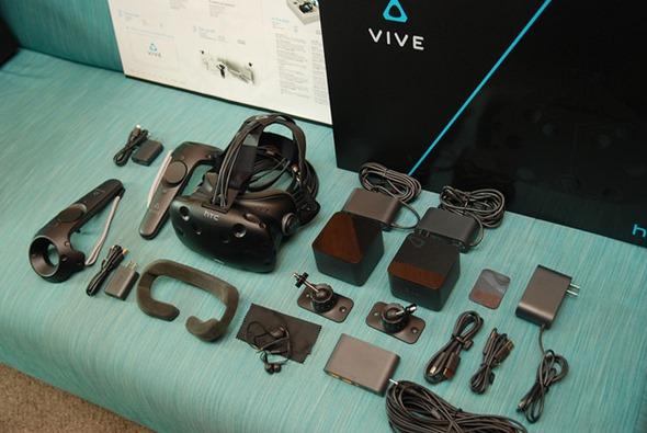 台灣 HTC VIVE 市售版開箱!各裝置細節深入說明 %E5%85%A8%E9%96%8B%E7%9B%B8