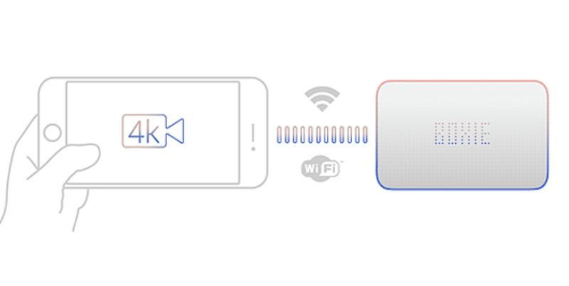 讓4K錄影成為基本配備-「 BOXIE:擺脫儲存限制的終極 IOS 周邊 」 1
