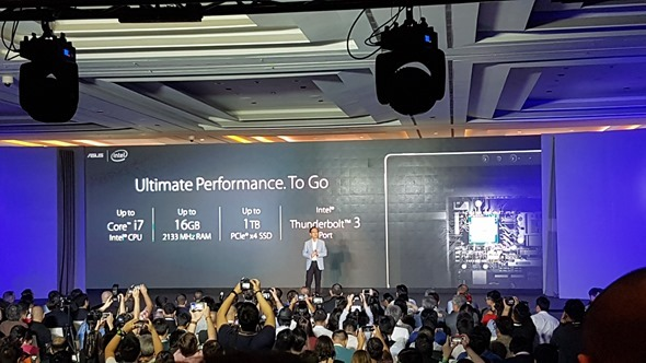 華碩 Zenvolution 發表全新 ZenBook 3、Transformer 3,外型、效能、價格驚豔全場 20160530_141143