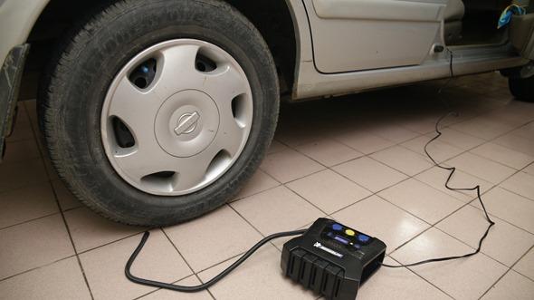 開箱/汽機車、玩具通用 米其林數位自動高速打氣機(12266),輕便好攜帶 IMG_3427