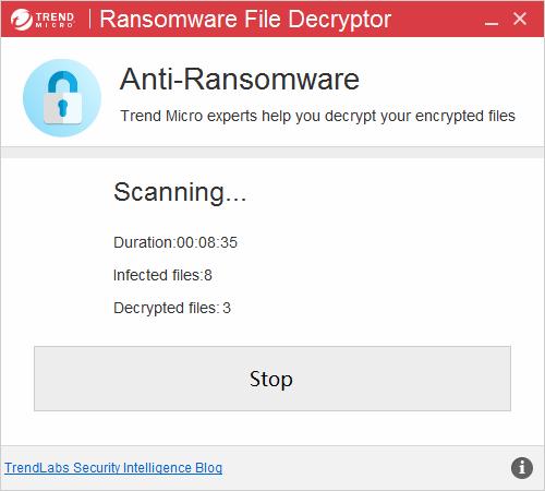 電腦被病毒勒索別擔心,解密工具幫你一次處理 (可解Cryptxxx、TeslaCrypt、SNSLocker) Scanning