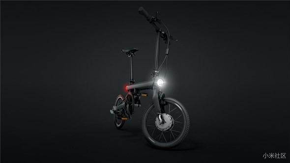 不騎平衡車啦!米家電助力摺疊自行車發表,售價 2999 人民幣 a91d027a00d3eac801668e585e776eee