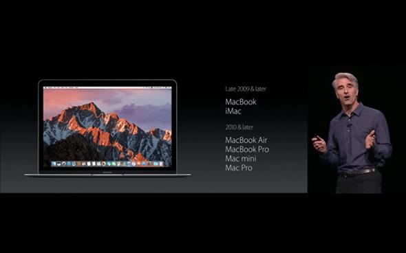 OS X再會,macOS Sierra 迎接新局,加入 Apple Pay、Siri,九月開放免費更新 image-34