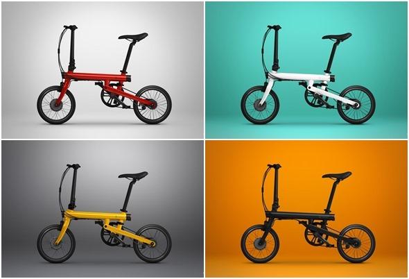 不騎平衡車啦!米家電助力摺疊自行車發表,售價 2999 人民幣 mi