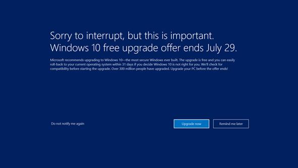 淺談:升級Windows 10嗎?7月29日免費升級前你還能多想一些 3175424