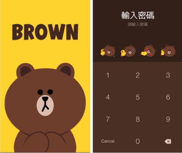 歡慶 LINE 在美國、日本雙掛牌,熊大特別版主題限時免費下載 6-1-590x494