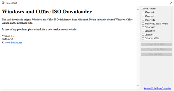 免費下載正版Windows7~10與Office2007~2016光碟映像檔(ISO) Windows-and-office-downloader-01