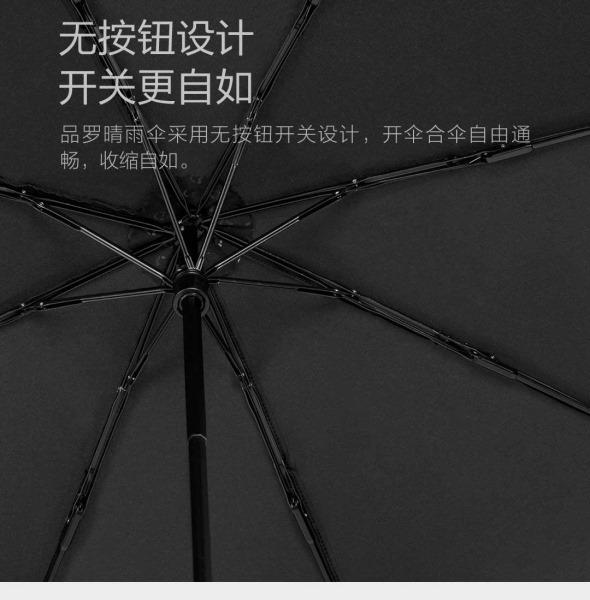 小米眾籌新品:品羅晴雨傘,台灣布料、鐵氟龍不沾水,輕薄好攜帶 %E5%B0%8F%E7%B1%B3%E6%99%B4%E9%9B%A8%E5%82%98-6