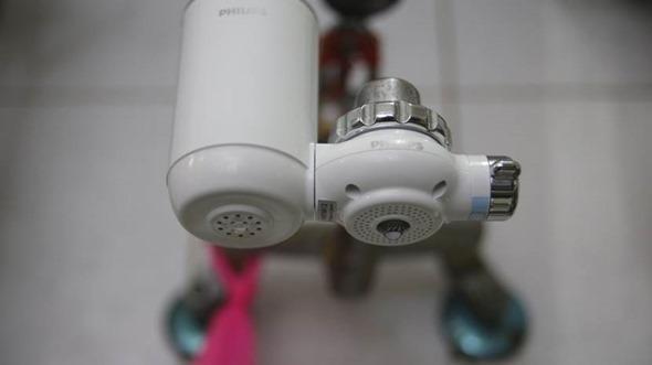 輕鬆裝/PHILIPS超濾水龍頭式淨水器(WP-3812),細菌、鉛、化學汙染、雜質臭味隨開即濾 clip_image028