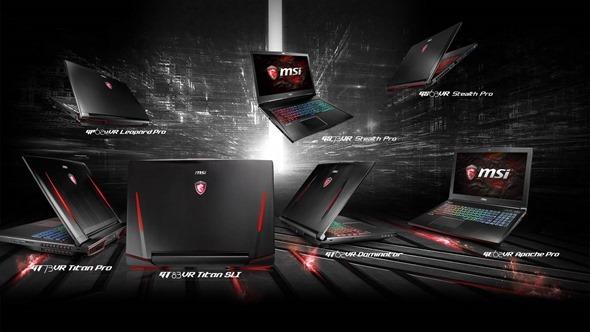 效能制霸桌機!微星推出9款 GeForce GTX 10 系列獨顯電競筆電,台灣同步開賣 image001
