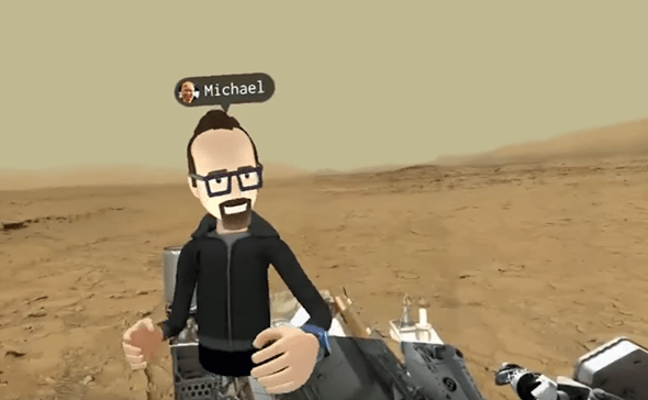 VR社交來了!Facebook 創辦人在 Oculus Connect 上展示虛擬實境社交互動 37