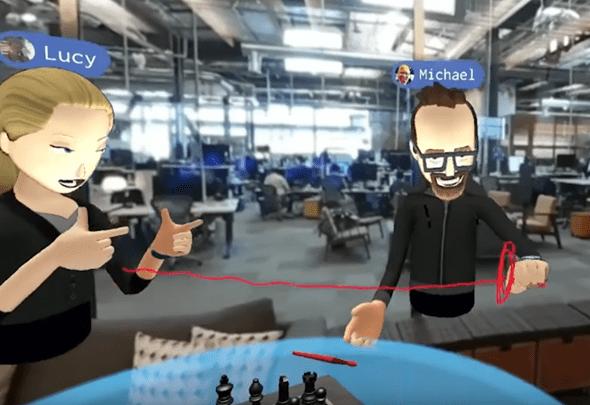 VR社交來了!Facebook 創辦人在 Oculus Connect 上展示虛擬實境社交互動 41