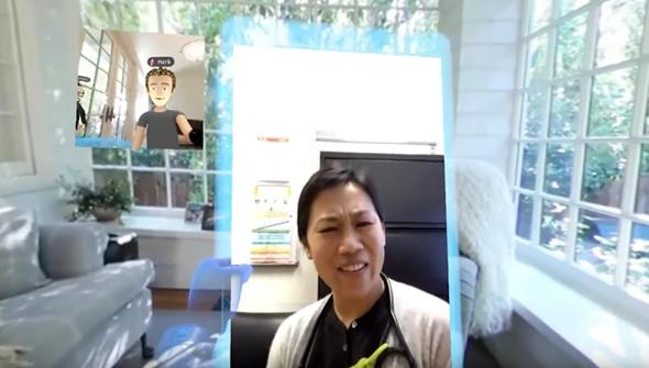 VR社交來了!Facebook 創辦人在 Oculus Connect 上展示虛擬實境社交互動 42