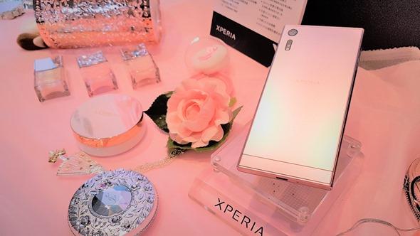 Sony Xperia XZ 推出「山茶花粉」新色,2017 冬春首選時尚新機 20161121_135621