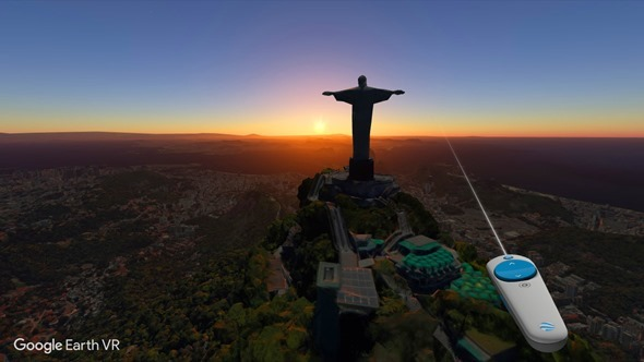 Google推出Google Earth VR 透過HTC VIVE帶你走訪全世界 Google-Earth-VR-4