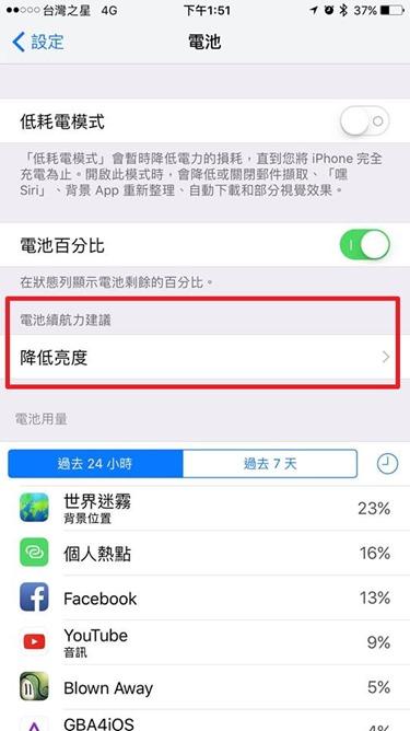 比低耗電模式更省電,iOS 10神秘選項幫你延長電池續航 ios-battery-life-suggestion-1