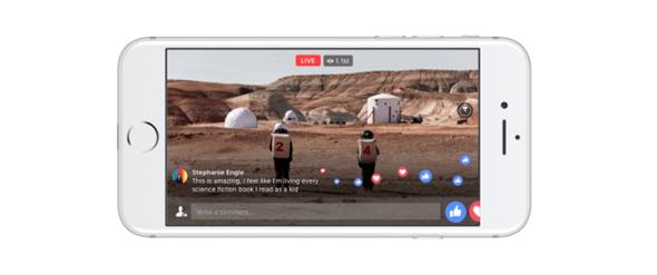 Facebook 360度直播上線,與國家地理頻道合作探索模擬火星生活 phone1