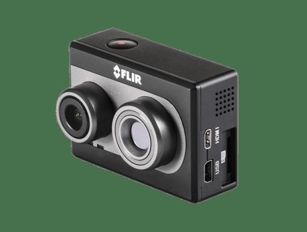 CES 2017報導:FLIR 推出新款手機紅外線熱像儀 FLIR One 與專業熱像拍攝設備Duo R、C3 FLIR_Duo_right_side