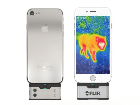 CES 2017報導:FLIR 推出新款手機紅外線熱像儀 FLIR One 與專業熱像拍攝設備Duo R、C3 FLIR_ONE_3rd_Gen_1