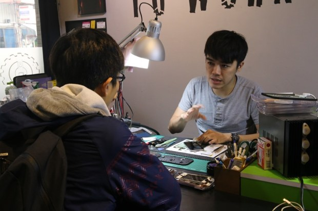 """""""巷子裡""""的台南專業手機平板維修中心 找 RENEW 就對了! IMG_5679"""