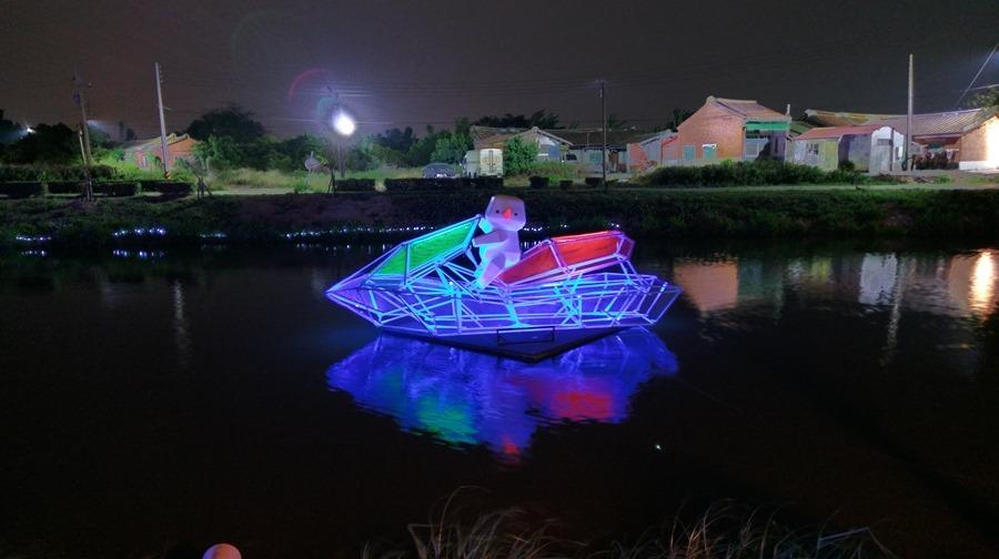 教你如何用手機拍出漂亮的月津港藝術燈景(追加手機4G網路速度測試) IMAG1614