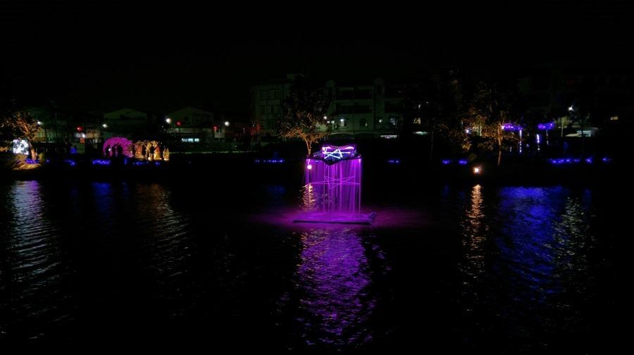 教你如何用手機拍出漂亮的月津港藝術燈景(追加手機4G網路速度測試) IMAG1659