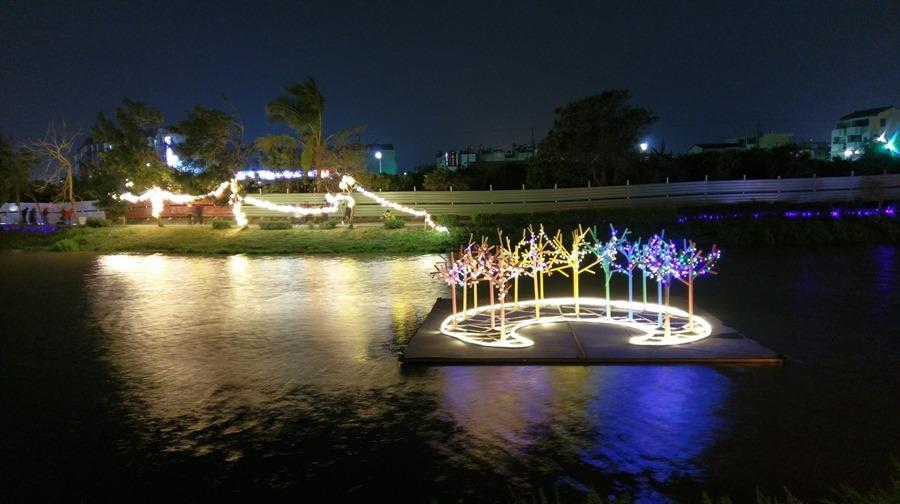 教你如何用手機拍出漂亮的月津港藝術燈景(追加手機4G網路速度測試) IMAG1690