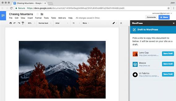 讓Google文件與WordPress整合,離線寫稿、協同寫稿/校稿一次滿足(Chrome擴充套件)