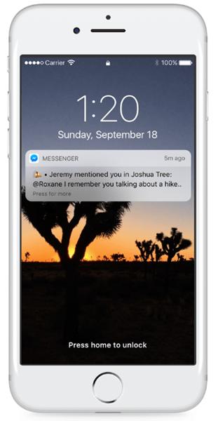 Facebook Messenger 推出群聊成員標記功能「@姓名」提醒成員閱讀重要訊息 015-2