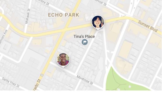 Google地圖推出即時位置共享功能,方便與好友、家人分享位置 027