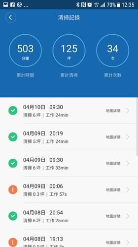 市面上 CP 值最高!米家掃地機器人超完整評測 Screenshot_20170410-123505
