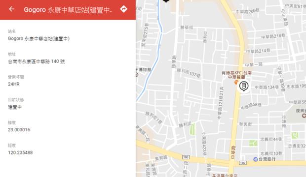 台南第二家Gogoro門市將設立於永康中華路上,買車、看車、保修更近啦! image-37