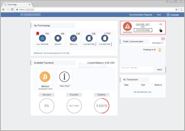 SPORA 勒索病毒偽裝 Hoelfer 字型,在 Chrome 網頁中看到請勿點! payment-site-logged-in