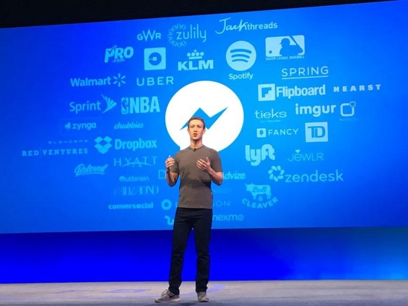 Facebook 導入人工智慧判斷頁面品質,蓋版廣告等低品質頁面將可能被降曝光懲罰 facebook-f8-zuckerberg-bots