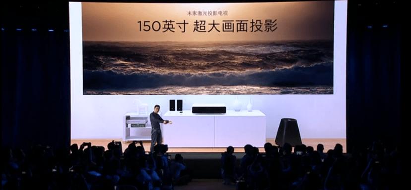 米家重磅發表「米家激光投影電視」超近距離投影 150 吋巨大畫面螢幕 064