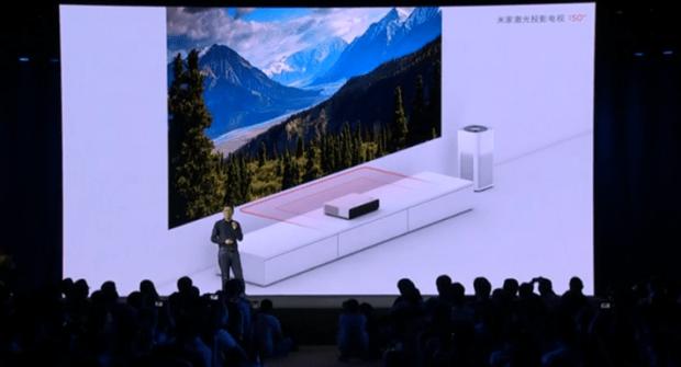 米家重磅發表「米家激光投影電視」超近距離投影 150 吋巨大畫面螢幕 073