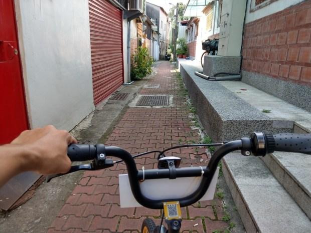 體驗心得:台南 oBike 無樁共享自行車試騎,自由停車無拘束 IMAG0858
