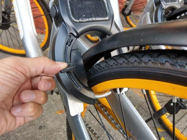 體驗心得:台南 oBike 無樁共享自行車試騎,自由停車無拘束 IMAG0862